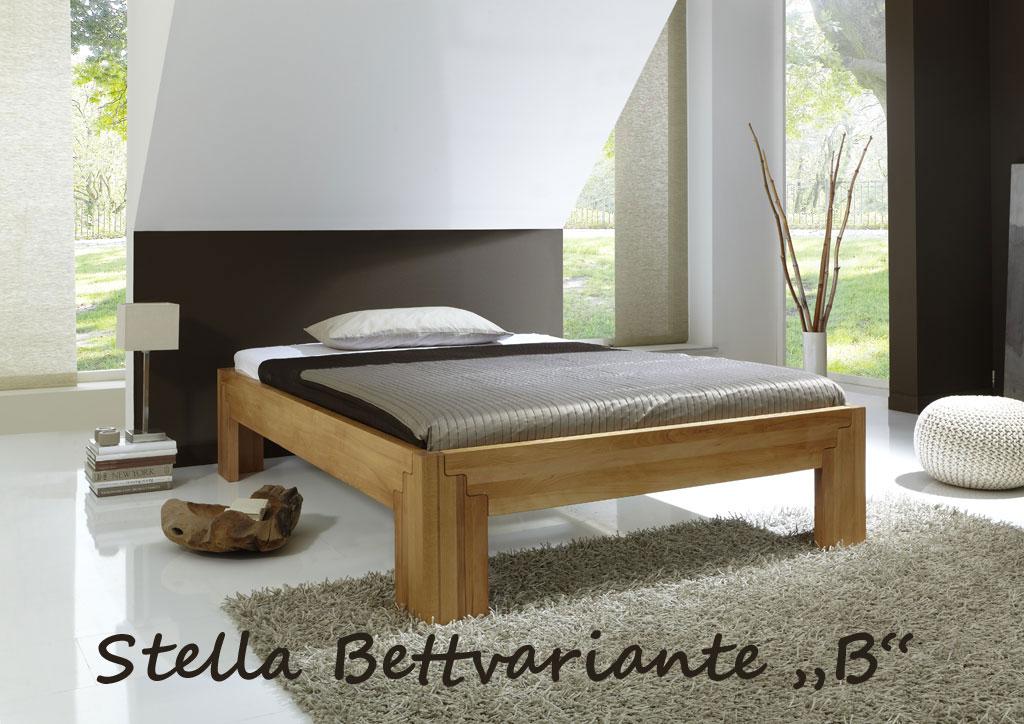 Bett stella buche massiv metallfreies stecksystem for Bett buche massiv