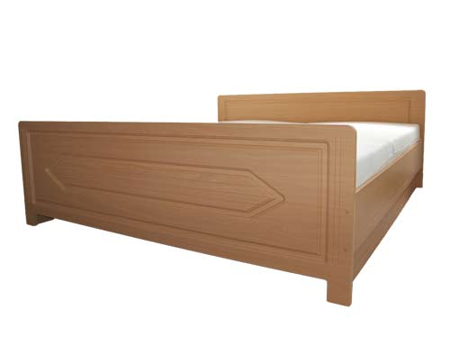 doppelbett classic bett 180x200 seniorenbett mdf wei ebay. Black Bedroom Furniture Sets. Home Design Ideas