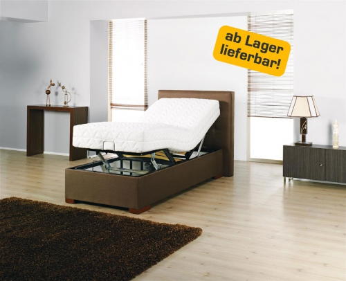 seniorenbett motorverstellbares komfortbett bett pflegebett 90 cm x 200 cm ebay. Black Bedroom Furniture Sets. Home Design Ideas