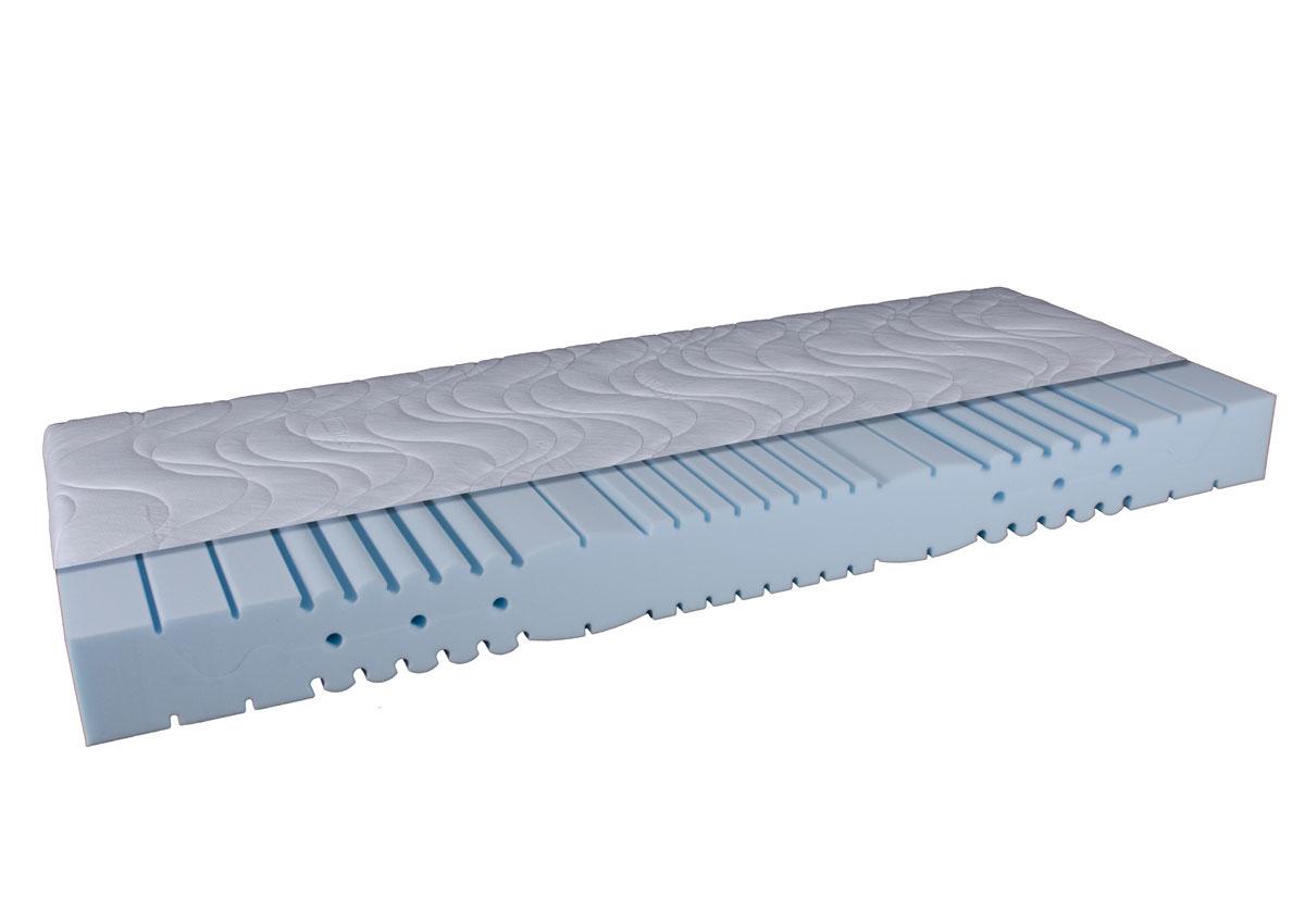 orthopdische 7 zonen kaltschaummatratze 140 x 200 cm dami delux. Black Bedroom Furniture Sets. Home Design Ideas