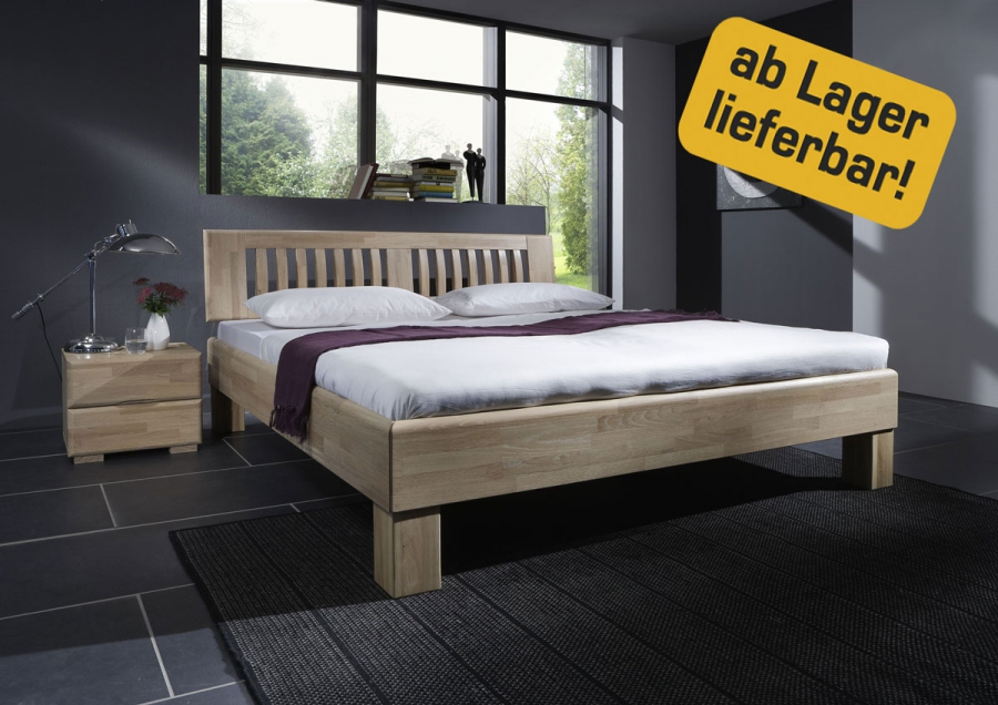 dico massivholzbett avantgarde bett eiche wildeiche natur. Black Bedroom Furniture Sets. Home Design Ideas
