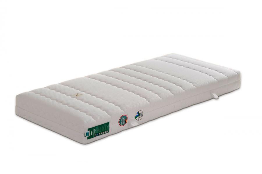 7 zonen taschen federkern matratze bezug runde form 160 x 200 cm. Black Bedroom Furniture Sets. Home Design Ideas