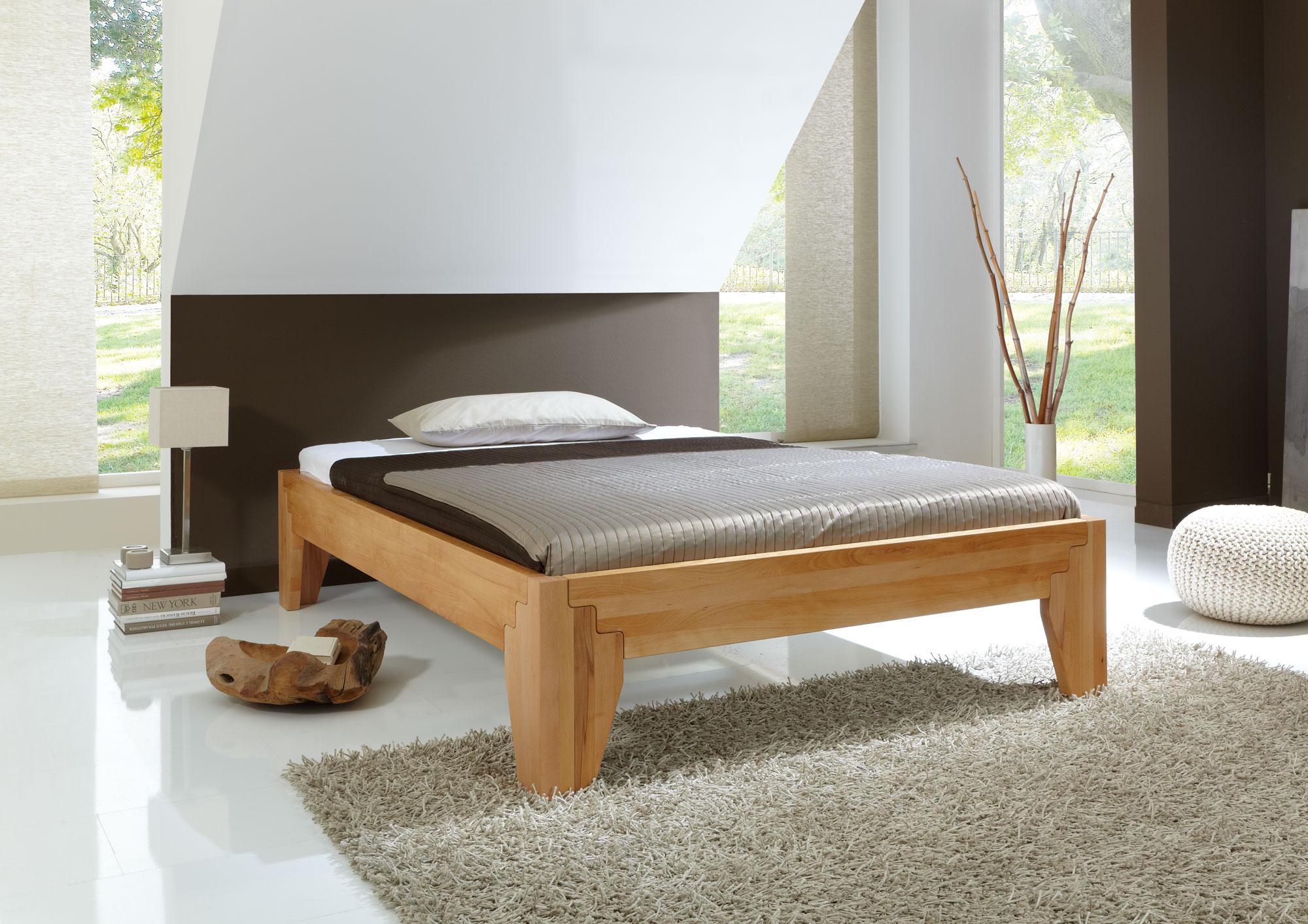 bett stella buche massiv metallfreies stecksystem. Black Bedroom Furniture Sets. Home Design Ideas