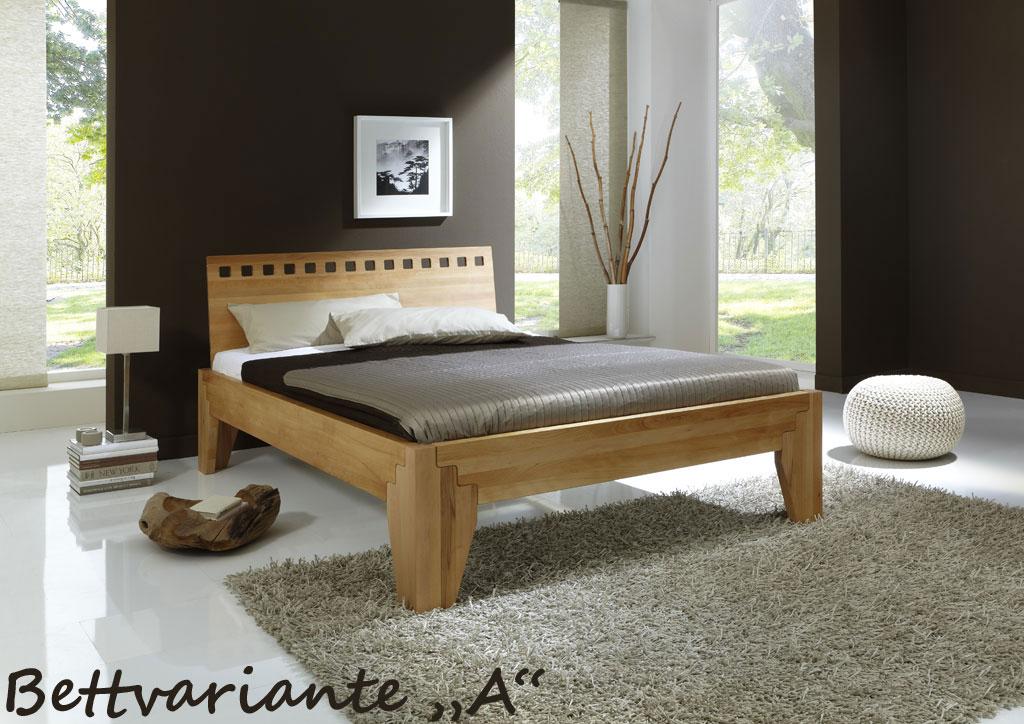 bett stella plus buche massiv mettallfreies stecksystem. Black Bedroom Furniture Sets. Home Design Ideas