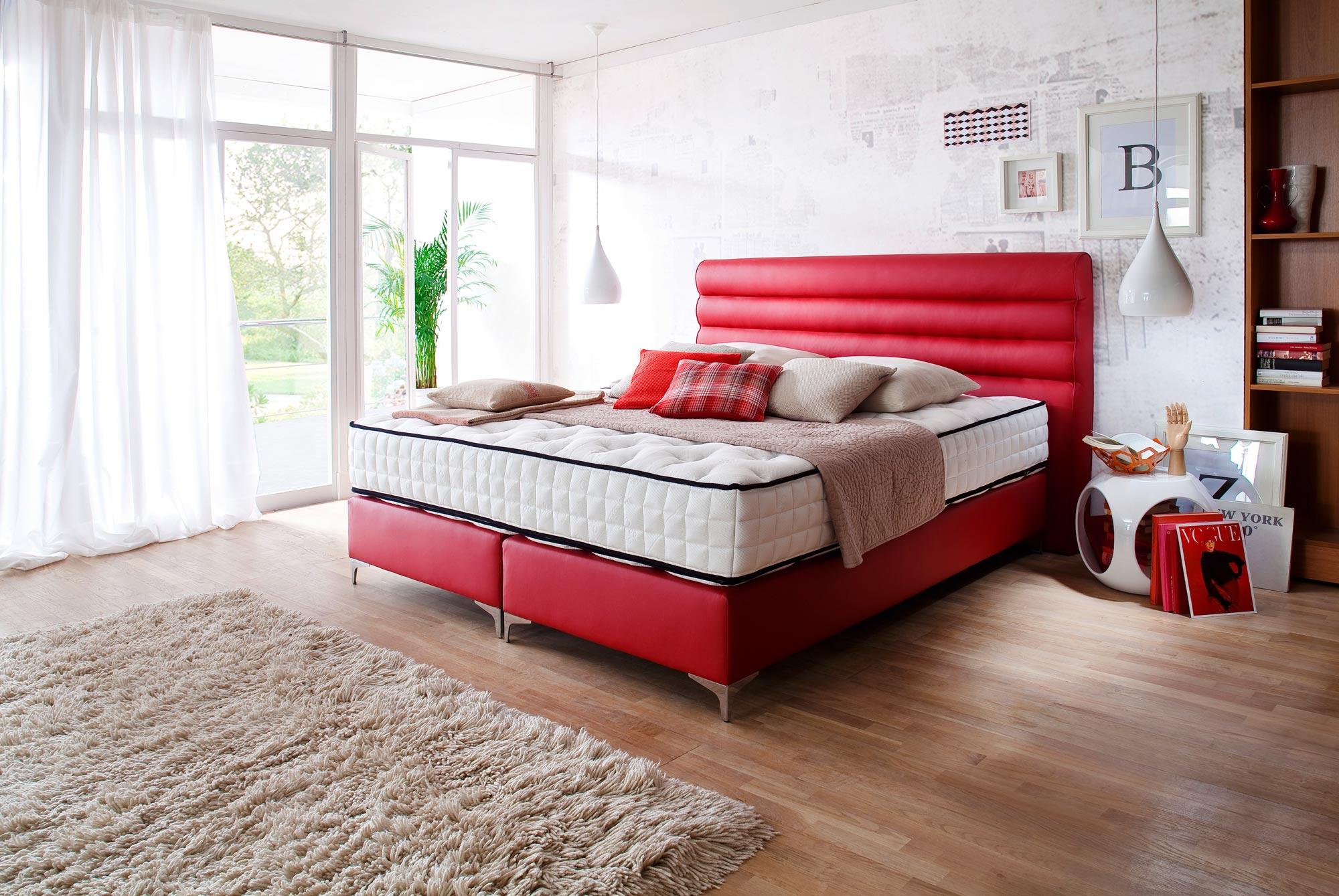 boxspringbett santa lucia. Black Bedroom Furniture Sets. Home Design Ideas