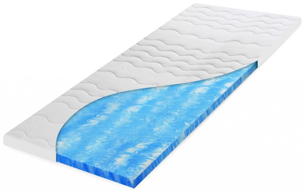 geltec topper matratzenauflage 160 x 200 cm jetzt neu auch als split topper. Black Bedroom Furniture Sets. Home Design Ideas