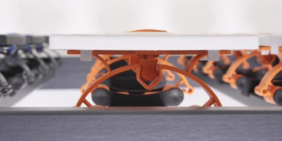 lattenrost 100 x 200 cm spectra k f verstellbar. Black Bedroom Furniture Sets. Home Design Ideas