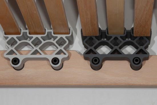 7 zonen lattenrost 90x200 cm dami mediflex t200. Black Bedroom Furniture Sets. Home Design Ideas