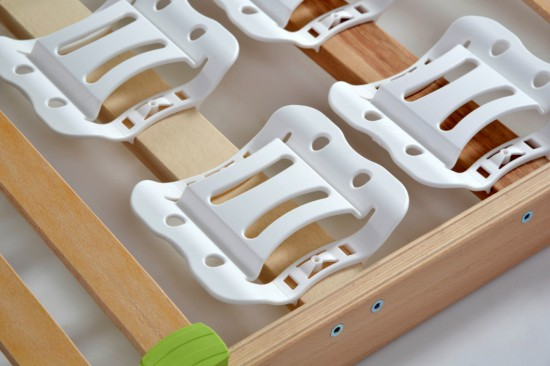 lattenrahmen lattenrost 120 x 200 cm dami mediflex t300 zerlegt. Black Bedroom Furniture Sets. Home Design Ideas