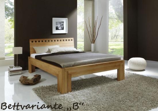 bett stella plus buche massiv metallfreies stecksystem. Black Bedroom Furniture Sets. Home Design Ideas