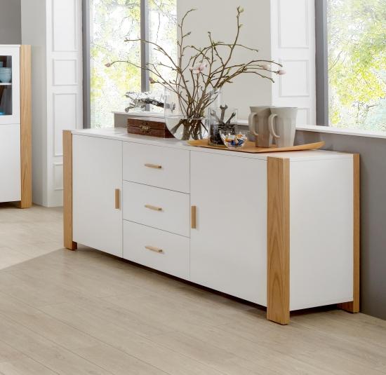 Komplett Set Esszimmermöbel Esszimmer Möbel Speisezimmer Sideboard +  Highboard + Tisch + Bank