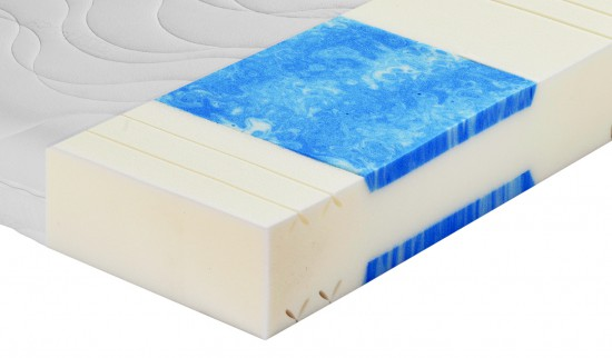 geltec 7 zonen kaltschaummatratze 160x200 cm. Black Bedroom Furniture Sets. Home Design Ideas