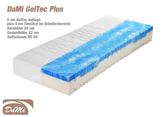 geltec plus 7 zonen kaltschaummatratze 140x200 cm. Black Bedroom Furniture Sets. Home Design Ideas