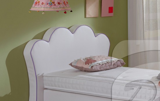 kinder boxspringbett princess 90cm x 200cm. Black Bedroom Furniture Sets. Home Design Ideas