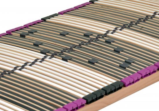 neu 7 zonen buche lattenrost 70 x 200 cm dami premium nv. Black Bedroom Furniture Sets. Home Design Ideas