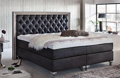 Schlafzimmer Ideen. Luxus Boxspringbetten