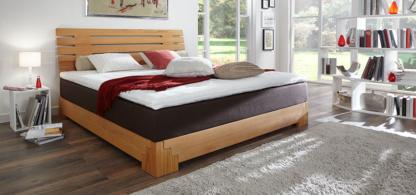 boxspringbett holz hochwertige stabile holz. Black Bedroom Furniture Sets. Home Design Ideas